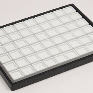sliding tray content 54 glass lid boxes for gemstones