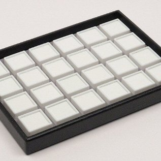 stacking tray content 24 glass lid boxes