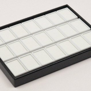 stacking tray content 21 glass lid boxes