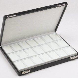 case content 21 glass lid boxes