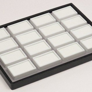 sliding tray content 16 glass lid boxes