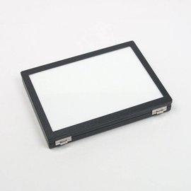 Universal case with glass lid