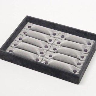Stapellade für breite Ringe oder Ringsets