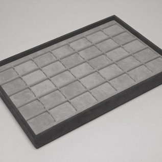 Stacking tray with 35 pads
