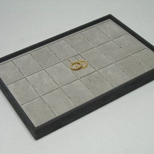 Stacking tray with 21 pads