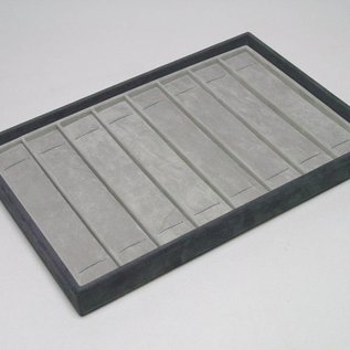 Stacking tray with 8 pads