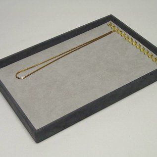Stacking tray with 15 hooks