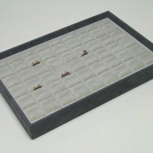 Stacking tray with 54 ringpads