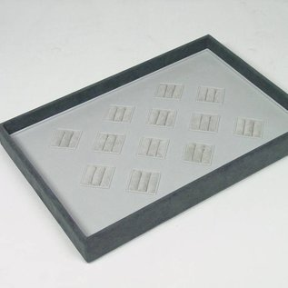 Stacking tray for 12 pairs of wedding rings