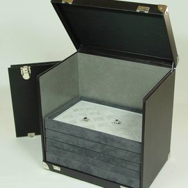 Sample case for stacking trays KL