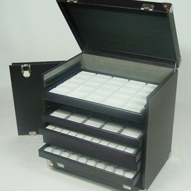 Sample case for sliding trays KL