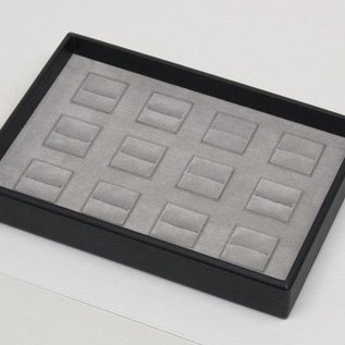 Stacking tray for 12 rings