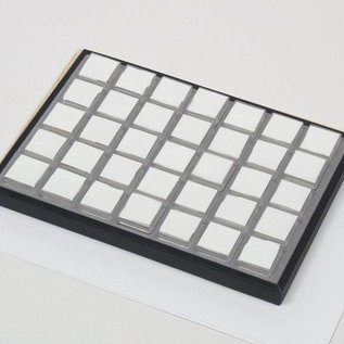 Sliding tray with 35boxes
