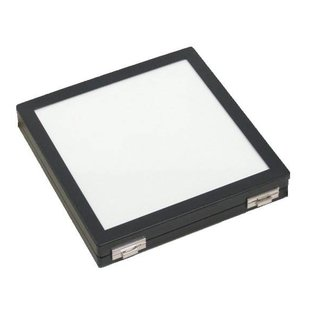 Universal case with glass lid quadratic