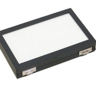 Universal case with glas lid 1/2