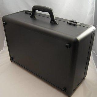 Aluminium sample case for jewelry or gemstone trays