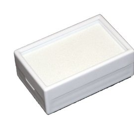 Glass lid box with insert foam