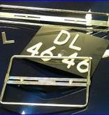 1ClassAdditions Chrome Kennzeichenhalter.