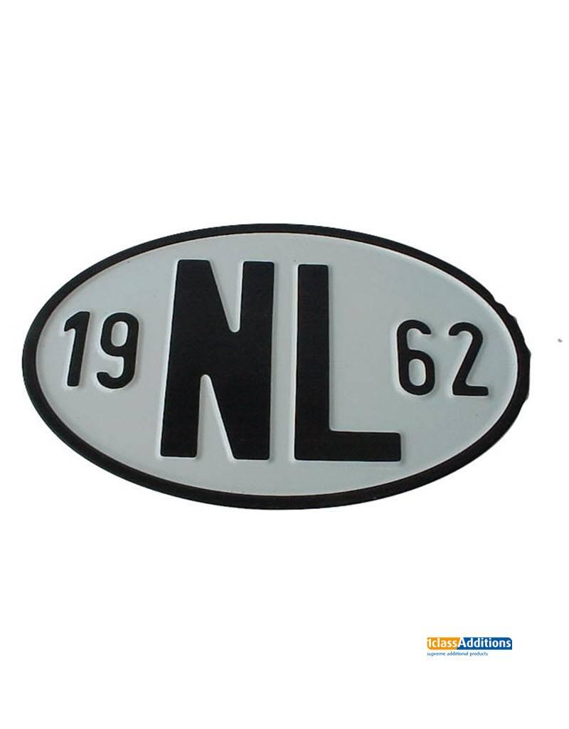 Imparts BV NL plaatje (18cm) met jaartal