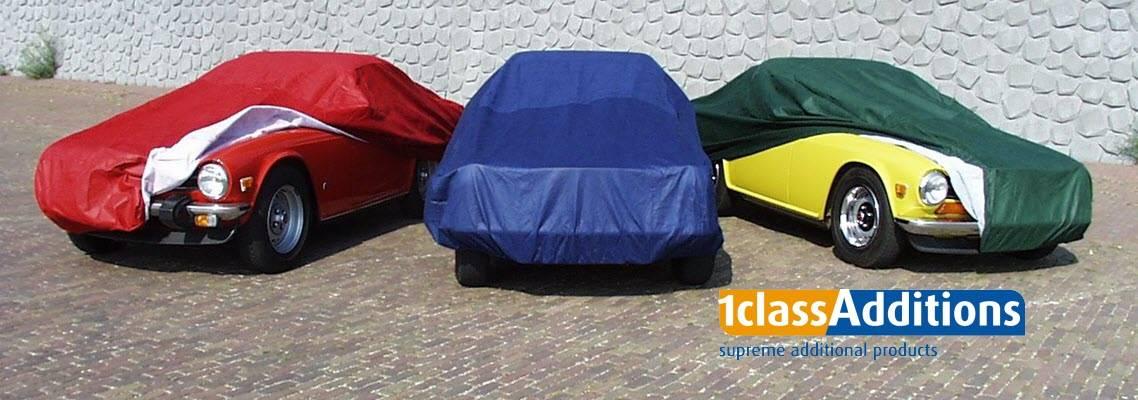 Autoschutzhüllen in verschiedenen Farben