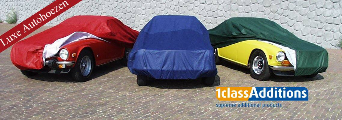 Autohoezen in diverse kleuren
