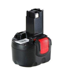 Accu Bosch 9,6v 3000mAh 3.0Ah Ni-MH Replacement BAT0408 BAT048