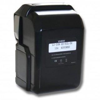 Accu Hitachi 25,2v 4000mAh 4,0Ah Li-Ion Replacement 328033 328034 BSL2530 BSL 2530