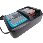 Makita Vervangende lader voor Makita DC18RC DC18RA lader met indicatorscherm Replacement