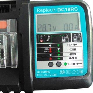 Makita DC18RC DC18RA lader met indicatorscherm Replacement