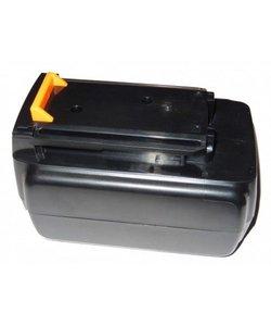 Accu Black & Decker 36v 2000mAh 2,0Ah Li-Ion BL1336 BL1336-XJ BL2036 BL2036-XJ LBXR36