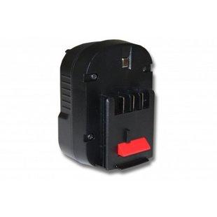 Accu Black & Decker/Firestorm 12v 2000mAh 2,0Ah Ni-MH A12 A12EX A12-XJ A1712 FS120B FSB12 HPB12 FS120B FSB12 Replacement