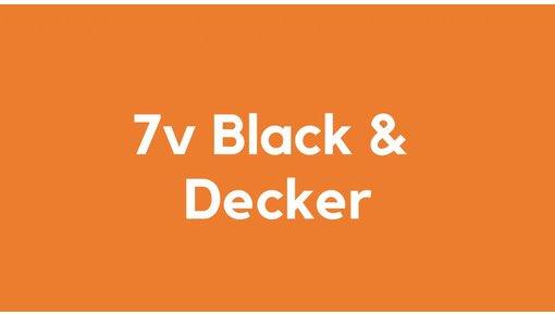 7v accu voor Black & Decker