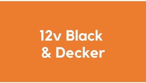 12v accu voor Black & Decker