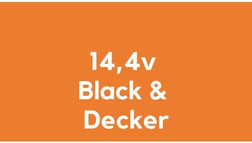 14,4v accu voor Black & Decker
