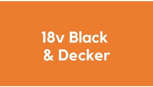 18v accu voor Black & Decker