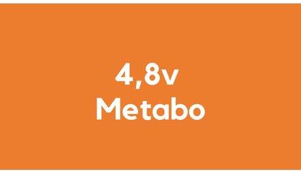 4,8v accu voor Metabo