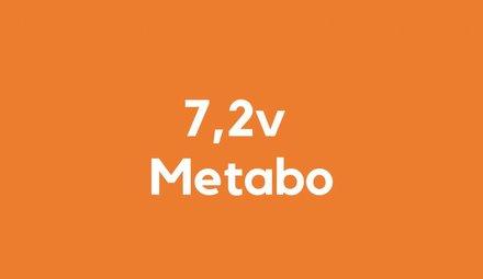 7,2v accu voor Metabo