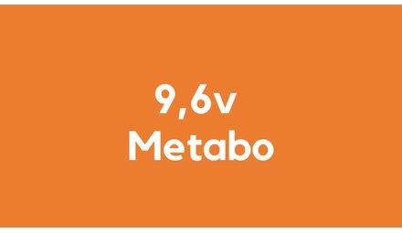 9,6v accu voor Metabo