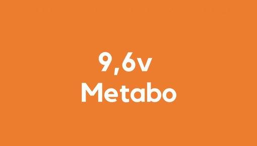 9,6v accu voor Metabo gereedschap