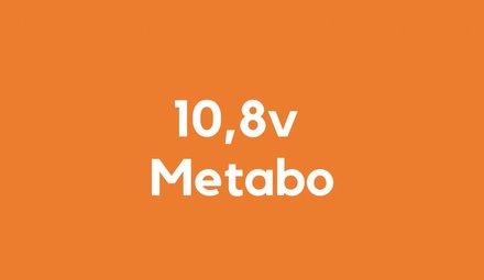 10,8v accu voor Metabo
