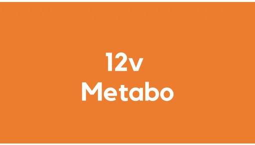 12v accu voor Metabo gereedschap