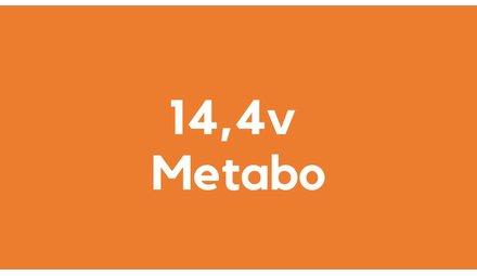 14,4v accu voor Metabo