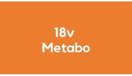 18v accu voor Metabo