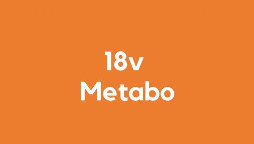 18v accu voor Metabo gereedschap
