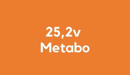 25,2v accu voor Metabo