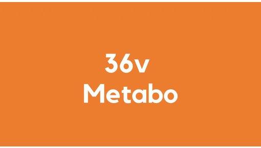 36v accu voor Metabo gereedschap