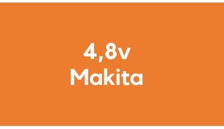 4,8v accu voor Makita