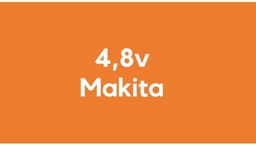 4,8v accu voor Makita gereedschap