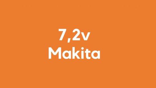7,2v accu voor Makita gereedschap
