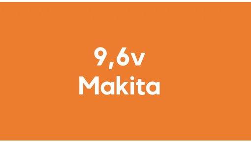 9,6v accu voor Makita gereedschap